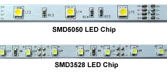 LED SMD5050 and SMD3538 Chips