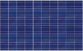 แผงโซล่าเซลล์ชนิด โพโลีคริสตัลไลน์ (Polycrystalline Silicon Solar Cells)